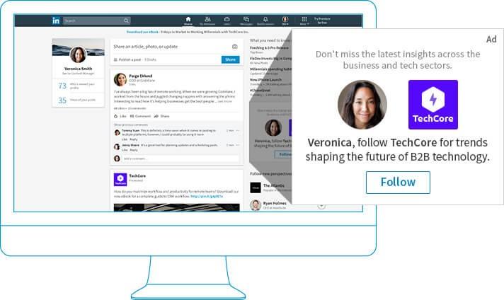 LinkedIn Dinamik Reklamlar