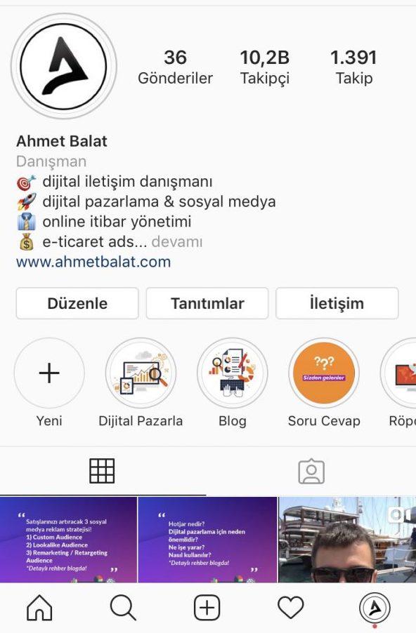 Instagram İşletme Hesabı Nasıl Oluşturulur?