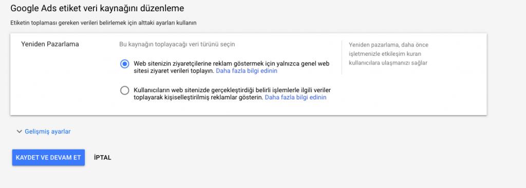 Google Ads Remarketing Kodu Siteye Nasıl Eklenir