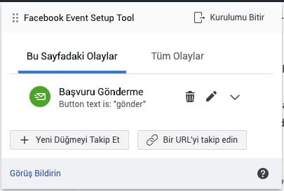 Facebook Dönüşüm Reklamı (Conversion) Oluşturma