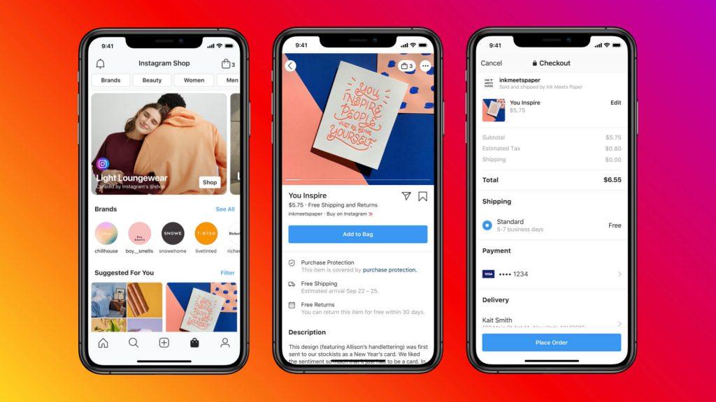 Facebook ve Instagram Alışveriş Özelliklerine Yenileri Eklendi