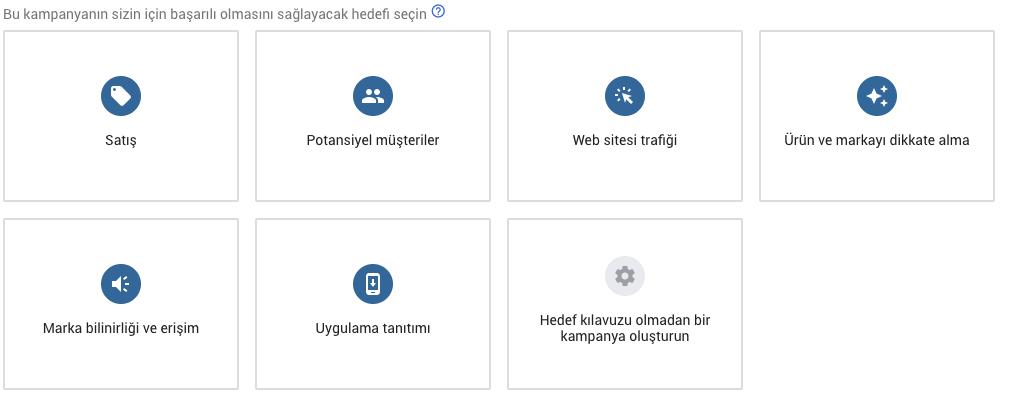 Google Ads Kampanya Hedefleri Nelerdir