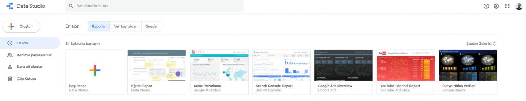 Google Data Studio Nedir? Nasıl Kullanılır?