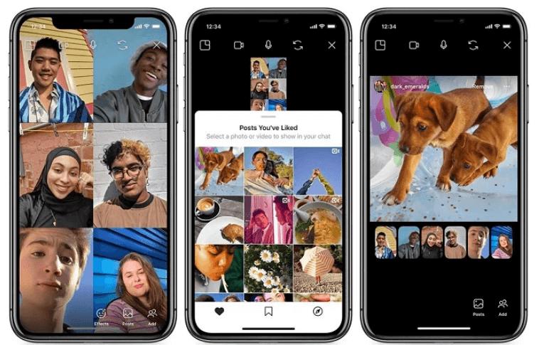 Instagram Canlı Yayınları 3 Konuk Destekleyebilecek
