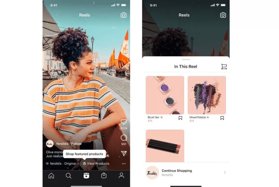 Instagram Reels Alışveriş Özelliği