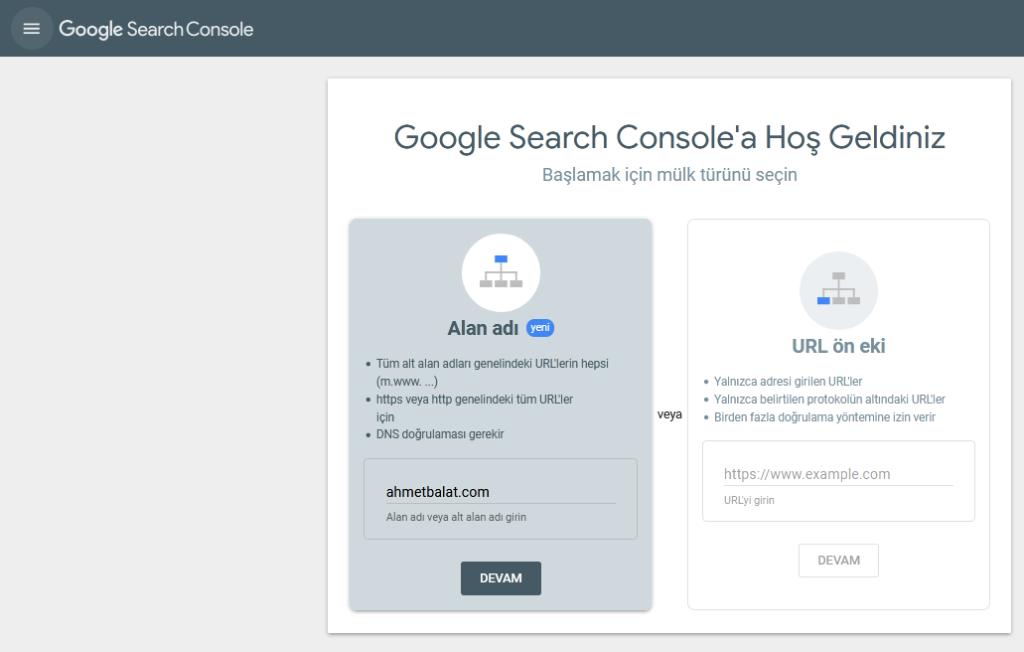 Google Search Console ile Nasıl Hesap Açılır?