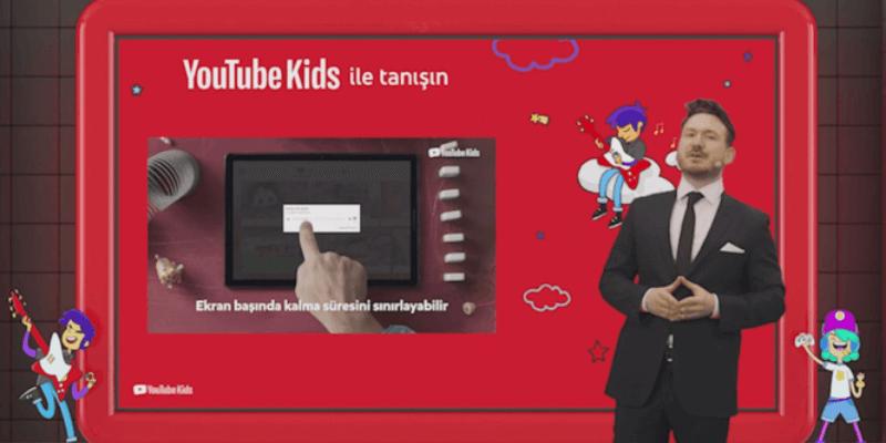 Youtube Kids Türkiye'nin Kullanımına Açılıyor