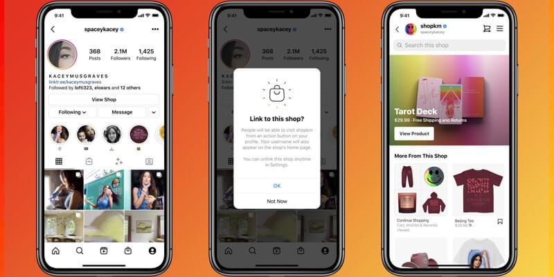 Instagram'da Favori Mağazaları Profilinize Ekleyebileceksiniz!