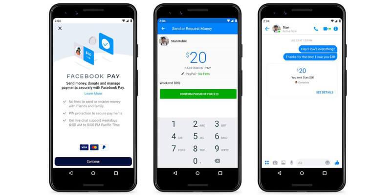 Facebook Messenger'da Para Transferini Kolaylaştırıyor