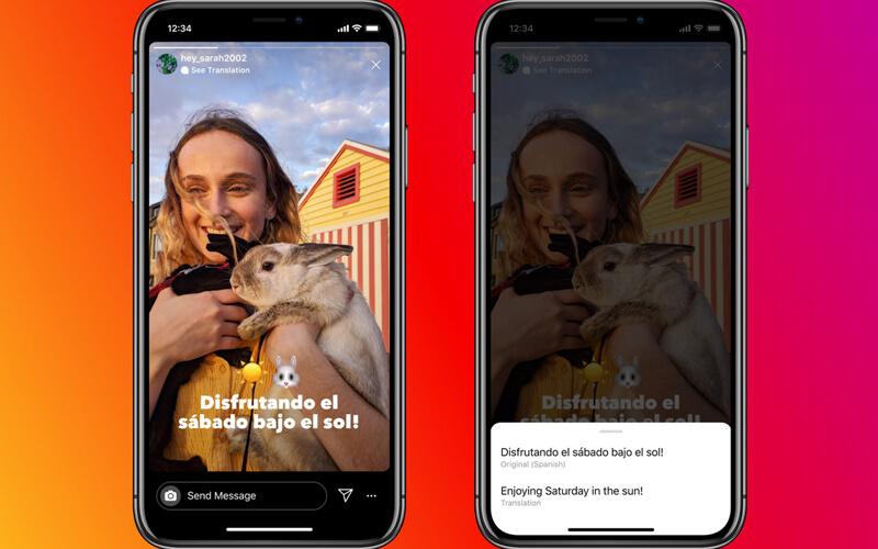Instagram Hikayeler İçin Çeviri Özelliğini Kullanıma Sundu