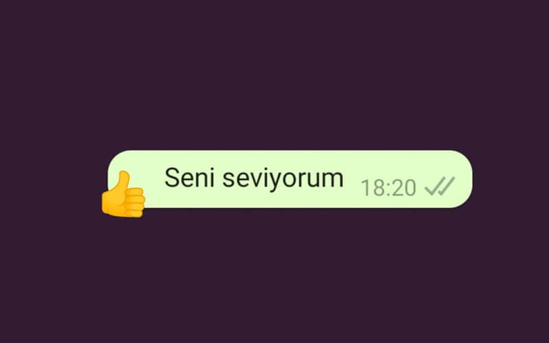 WhatsApp'a Emoji Tepkileri Geliyor