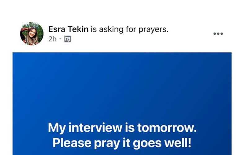 Facebook Dua Butonu Özelliği