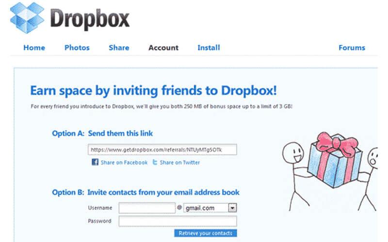 Growth Hacking Dropbox